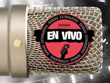 portada Fotorock En Vivo. Bandas Extranjeras Ii Rojo