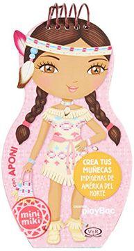 portada Crea tus Muñecas Indigenas de America del Norte