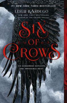 portada Six of Crows (libro en Inglés)