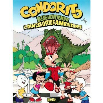 portada Condorito Descubriendo los Dinosaurios Americanos