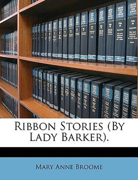 portada ribbon stories (by lady barker).