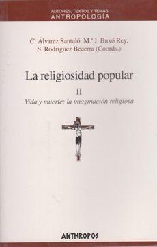 portada La Religiosidad Popular: 2. Vida y Muerte