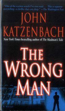 portada The Wrong man (libro en Inglés)