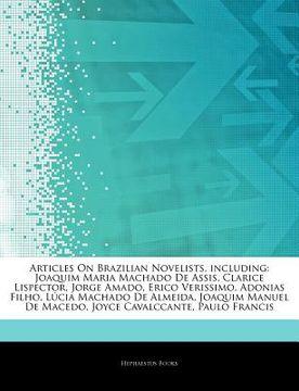 portada articles on brazilian novelists, including: joaquim maria machado de assis, clarice lispector, jorge amado, erico verissimo, adonias filho, l cia mach