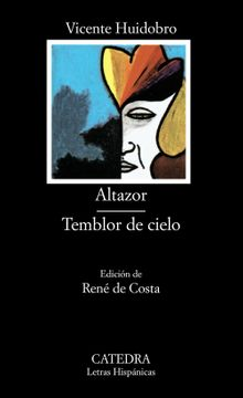 portada Altazor; Temblor de Cielo