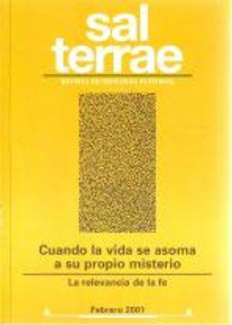 portada Sal Terrae, Revista De Teología Pastoral. Febrero 2001. Tomo 89 / 2 (N. 1042)