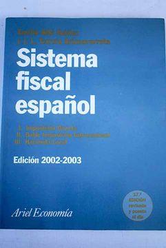 portada Sistema fiscal español