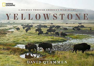 portada Yellowstone: A Journey Through America's Park (libro en Inglés)