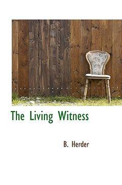 portada the living witness