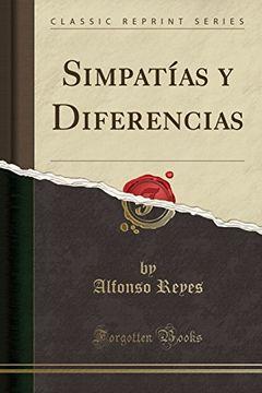portada Simpatías y Diferencias (Classic Reprint)