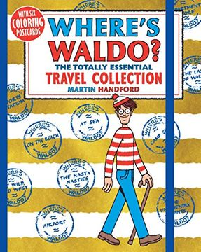 portada Where's Waldo? The Totally Essential Travel Collection (libro en Inglés)