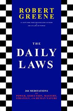 portada The Daily Laws: 366 Meditations on Power, Seduction, Mastery, Strategy, and Human Nature (libro en Inglés)