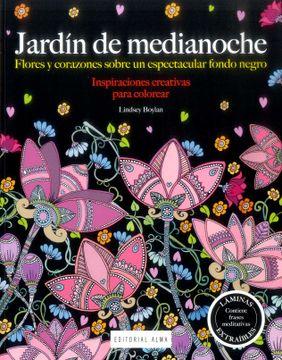 portada Jardín de Medianoche (Inspiraciones Creativas)