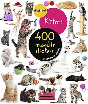portada Eyelike Stickers: Kittens (libro en Inglés)