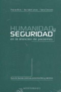 portada humanidad y seguridad en la atención de pacientes - guía de buenas prácticas para docentes y alumnos