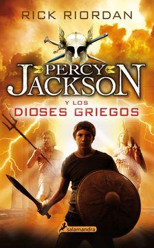 portada Percy Jackson y los Dioses Griegos