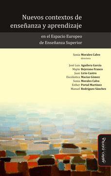 portada Nuevos Contextos de Enseñanza y Aprendizaje en el Espacio Europeo de Enseñanza Superior