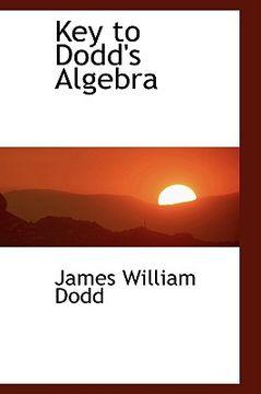 portada key to dodd's algebra