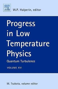 portada Progress in low Temperature Physics, Volume 16: Quantum Turbulence (libro en Inglés)