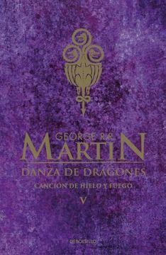 portada Danza de Dragones (Cancion de Hielo y fu