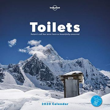 portada Toilets Calendar 2020 (Lonely Planet) (libro en Inglés)