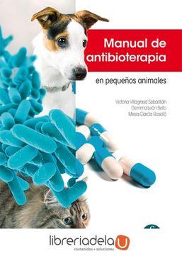 portada Manual de Antibioterapia en Pequeños Animales