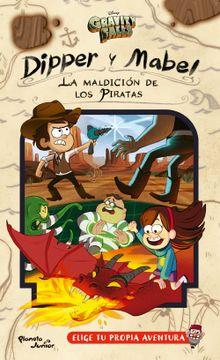 portada Dipper y Mabel la Maldición de los Piratas