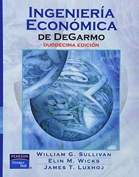 portada Ingeniería Económica de Degarmo, 12Ed