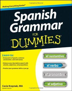 portada spanish grammar for dummies
