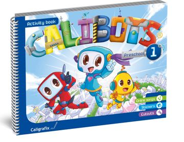 portada Calibots Activity Book 1 (Prekinder)