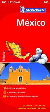 portada Mexico. Mapa National. 765