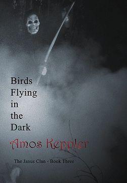 portada birds flying in the dark