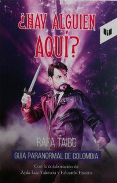 portada Hay Alguien Aqui Guia Paranormal de Colombia