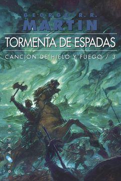 portada Tormenta de Espadas: CancióN de Hielo y Fuego, nº3 (Gigamesh Omnium)