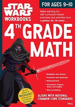 portada Star Wars Workbook: 4th Grade Math (Star Wars Workbooks)