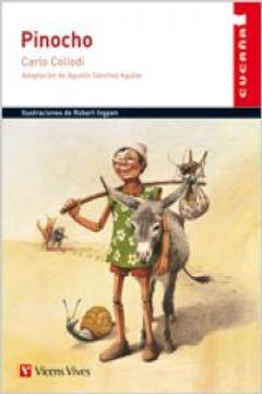 portada Pinocho (Colección Cucaña)