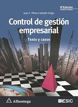 portada Control de Gestión Empresarial: Textos y Casos