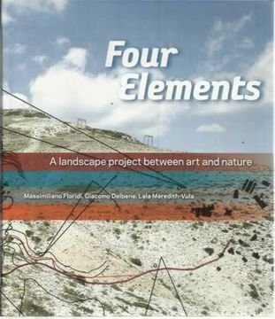 portada Four Elements. A landscape project between art and nature