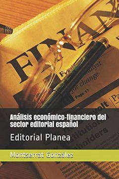 portada Análisis Económico-Financiero del Sector Editorial Español: Editorial Planea