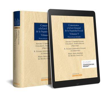 portada Comentarios a la ley General de la Seguridad Social (Vol. V) (Dúo)