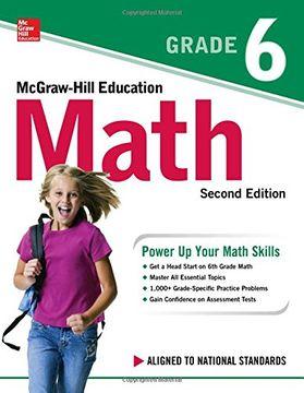 portada Mcgraw-Hill Education Math Grade 6, Second Edition (libro en inglés)