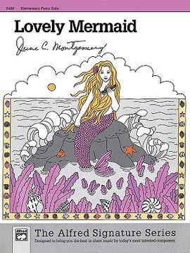 portada lovely mermaid: sheet