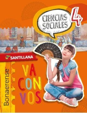 portada Ciencias Sociales 4 Bonaerense  Santillana Va Con Vos