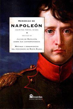 portada Memorias de Napoleón