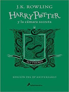 portada Harry Potter y la Cámara Secreta (Edición Slytherin del 20º Aniversario) (Harry Potter 2): Verde