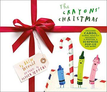 portada The Crayons' Christmas (libro en Inglés)