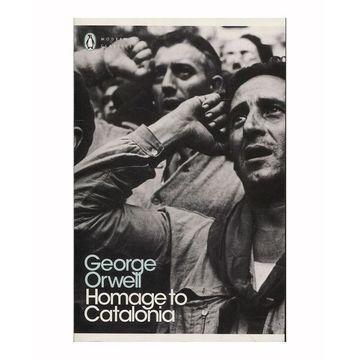portada Homage to Catalonia (libro en Inglés)