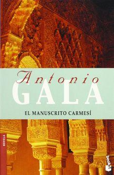 portada El Manuscrito Carmesi (Premio Planeta 1990)