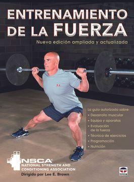 portada Entrenamiento de la Fuerza (Nueva Edicion Ampliada y Actualizada)