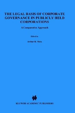 portada legal basis of corporate governance in publicly held corporations